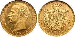 20 Krone Dänemark Gold Friedrich VIII. (Dänemark) (1843 - 1912)