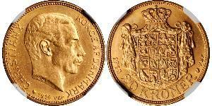 20 Krone Denmark Gold Christian X of Denmark (1870 - 1947)