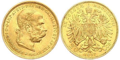 20 Krone Autriche-Hongrie (1867-1918) Or Franz Joseph I (1830 - 1916)