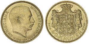20 Krone Danemark Or Christian X de Danemark (1870 - 1947)