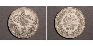 20 Kurush Impero ottomano (1299-1923) Argento