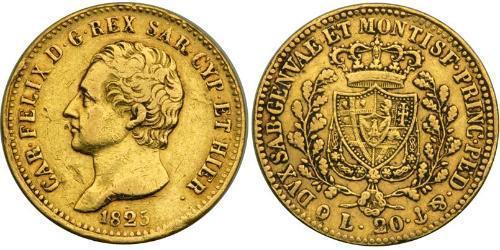 20 Lira 意大利 金