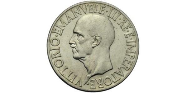 20 Lira Kingdom of Italy (1861-1946) Argent Victor-Emmanuel III d