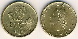 20 Lira Italy Bronze/Aluminium