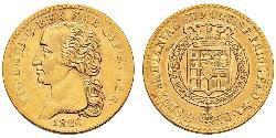 20 Lira Kingdom of Sardinia (1324 - 1861) Gold Victor Emmanuel I of Sardinia