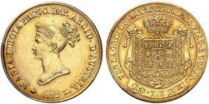 20 Lira Italian city-states Oro