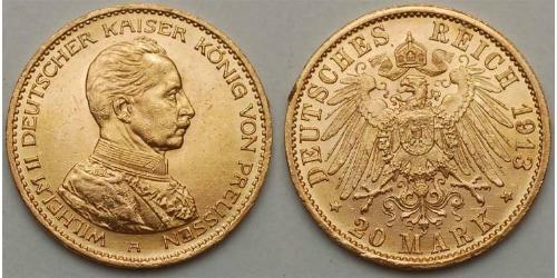 20 Mark 德国 金