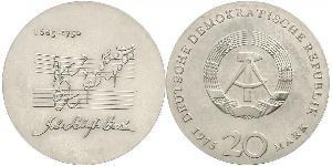 20 Mark Repubblica Democratica Tedesca (1949-1990) Argento