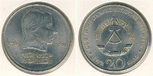 20 Mark German Democratic Republic (1949-1990) Copper/Nickel