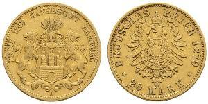 20 Mark Deutsches Kaiserreich (1871-1918) Gold