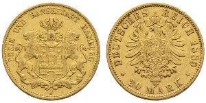 20 Mark Deutsches Kaiserreich (1871-1918) Gold