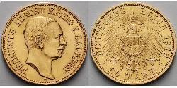 20 Mark Kingdom of Prussia (1701-1918) Gold