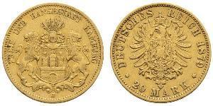 20 Mark Impero tedesco (1871-1918) Oro