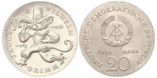 20 Mark Deutsche Demokratische Republik (1949-1990)