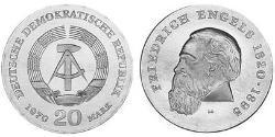 20 Mark German Democratic Republic (1949-1990)