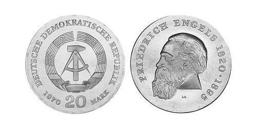 20 Mark German Democratic Republic (1949-1990)