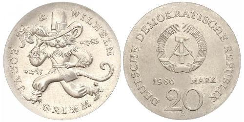 20 Mark République démocratique allemande (1949-1990)