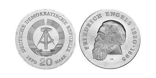 20 Mark Repubblica Democratica Tedesca (1949-1990)