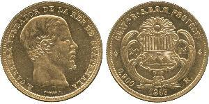 20 Peso Guatemala Or