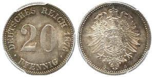 20 Pfennig 德国