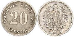 20 Pfennig Alemania