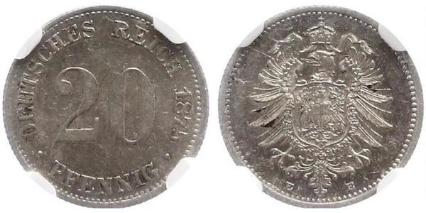 20 Pfennig Germany