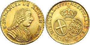 20 Scudo Order of Malta (1080 - ) Gold Emmanuel de Rohan-Polduc