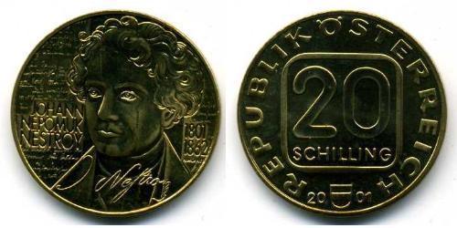 20 Shilling First Austrian Republic (1918-1934) Copper/Aluminium/Nickel