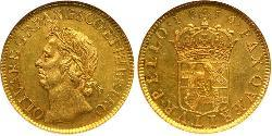 20 Shilling Commonwealth of England (1649-1660) Gold
