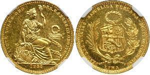 20 Sol Peru Gold