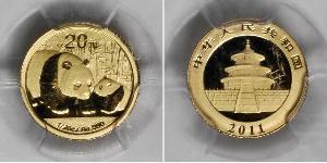 20 Yuan Cina Oro