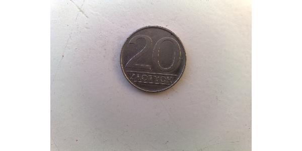 20 Zloty 波兰人民共和国 (1944 - 1989) 銅/镍