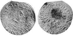 24 Kreuzer Fürstentum Ansbach (1398–1792) Silber Joachim Ernst (Brandenburg-Ansbach)(1583 – 1625)