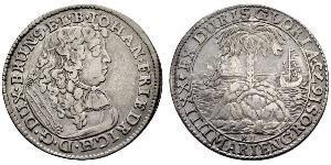 24 Mariengroschen Священная Римская империя (962-1806) Серебро Иоганн Фридрих (князь Брауншвейг-Каленберга)