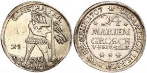 24 Mariengroschen Федеральні землі Німеччини Срібло