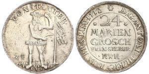 24 Mariengroschen 联邦州 (德国) 銀