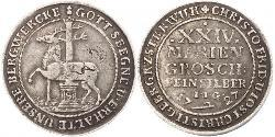 24 Mariengroschen 联邦州 (德国) / 神圣罗马帝国 (962 - 1806) 銀