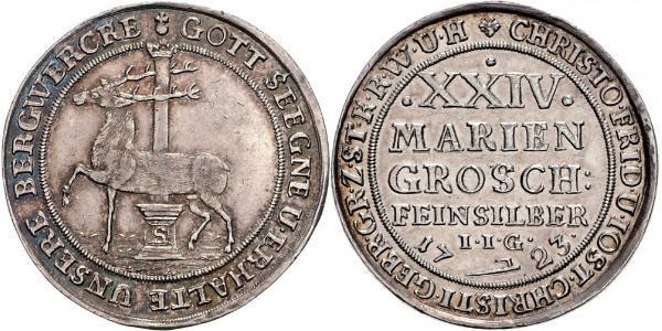 24 Mariengroschen Saint-Empire romain germanique (962-1806) / States of Germany Argent
