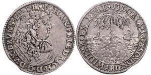 24 Mariengroschen Holy Roman Empire (962-1806) Silver John Frederick, Duke of Brunswick-Calenberg