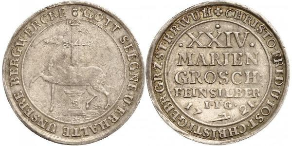 24 Mariengroschen Holy Roman Empire (962-1806) / States of Germany Silver
