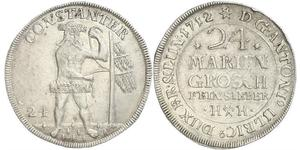 24 Mariengroschen States of Germany Silver