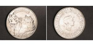 250 Franc Luxembourg Silver
