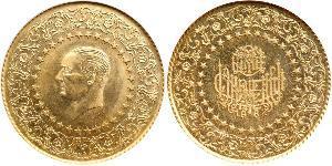 250 Piastre 土耳其 金 穆斯塔法·凯末尔·阿塔图尔克