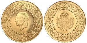 250 Piastre Türkei (1923 - ) Gold Mustafa Kemal Atatürk (1881-1938)