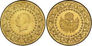 250 Piastre Turchia (1923 - ) Oro Mustafa Kemal Atatürk (1881-1938)