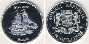 250 Shilling Somalia Argento