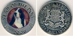 250 Shilling Somalia Copper/Nickel