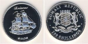 250 Shilling Somalia Plata