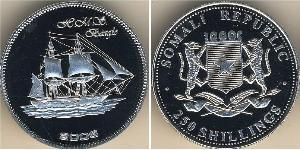 250 Shilling Somalia Silver