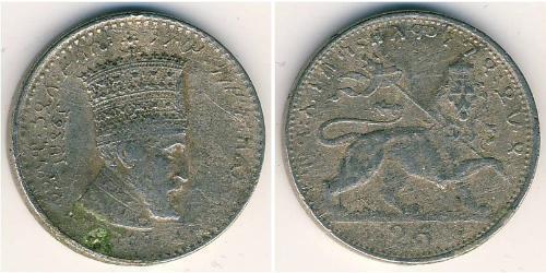 25 Матона Äthiopien Nickel